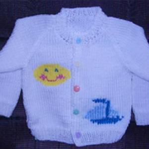 Baby/Toddler/Child Raglan Cardigan