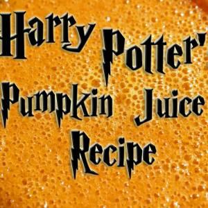 Pumpkin Juice Recipe of Harry Potter