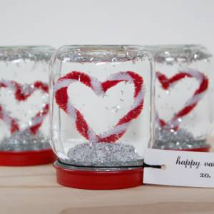 Snow Globe Valentines.