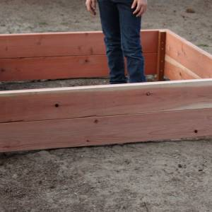 How To Build a Raised Garden Box.