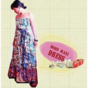 HOW TO SEW A BOHO MAXI DRESS