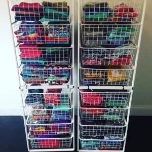Great clothing storage hacks