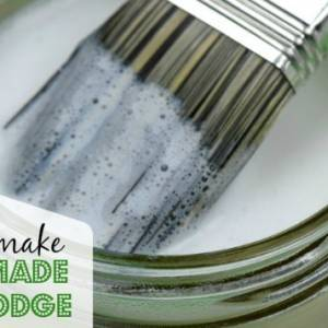 How to make mod podge