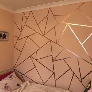 11 WONDERFUL WASHI TAPE WALL DECOR IDEAS
