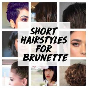 Short Brunette Hairstyles