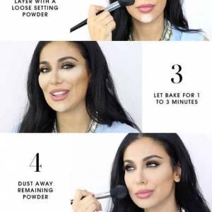 makeup chart how to bake makeup