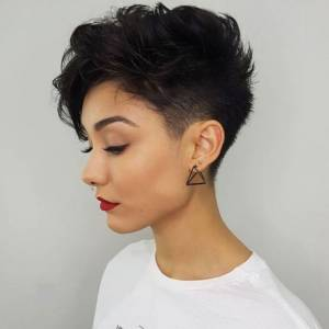 tapered pixie