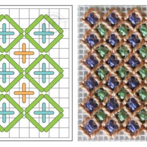 Lattice Stitch