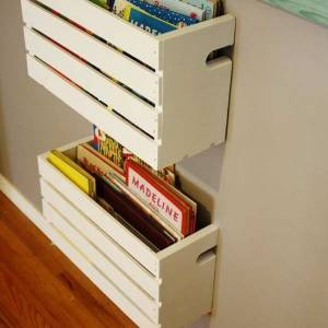 25 fantastic diy projects by recycling crates
