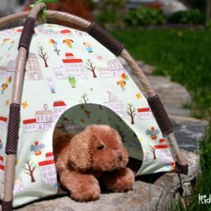 Mini-Tent Pattern + Tutorial