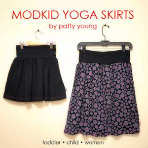 Yoga Skirt Tutorial (Toddler + Child + Women)