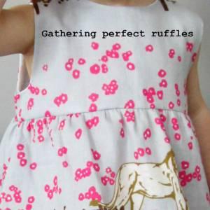 Gathering perfect ruffles (tutorial)