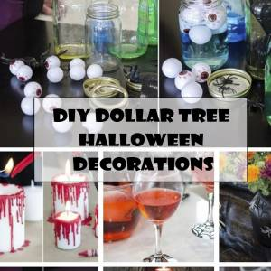 DIY Dollar Tree Halloween decorations