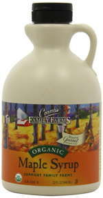 Maple syrup, highly nutritious natural sweetener