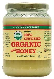 Honey bee raw unpasteurized and organic
