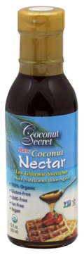 Coconut nectar, natural alternative to sweeten, coconut sugar