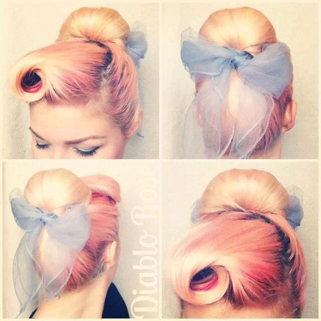 Bow Bouffant
