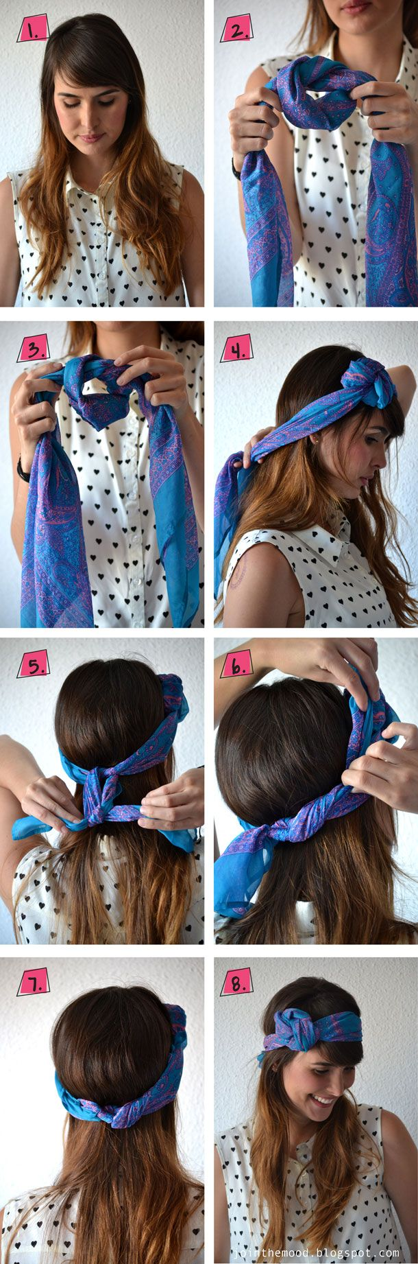 Knotted Scarf Hairband