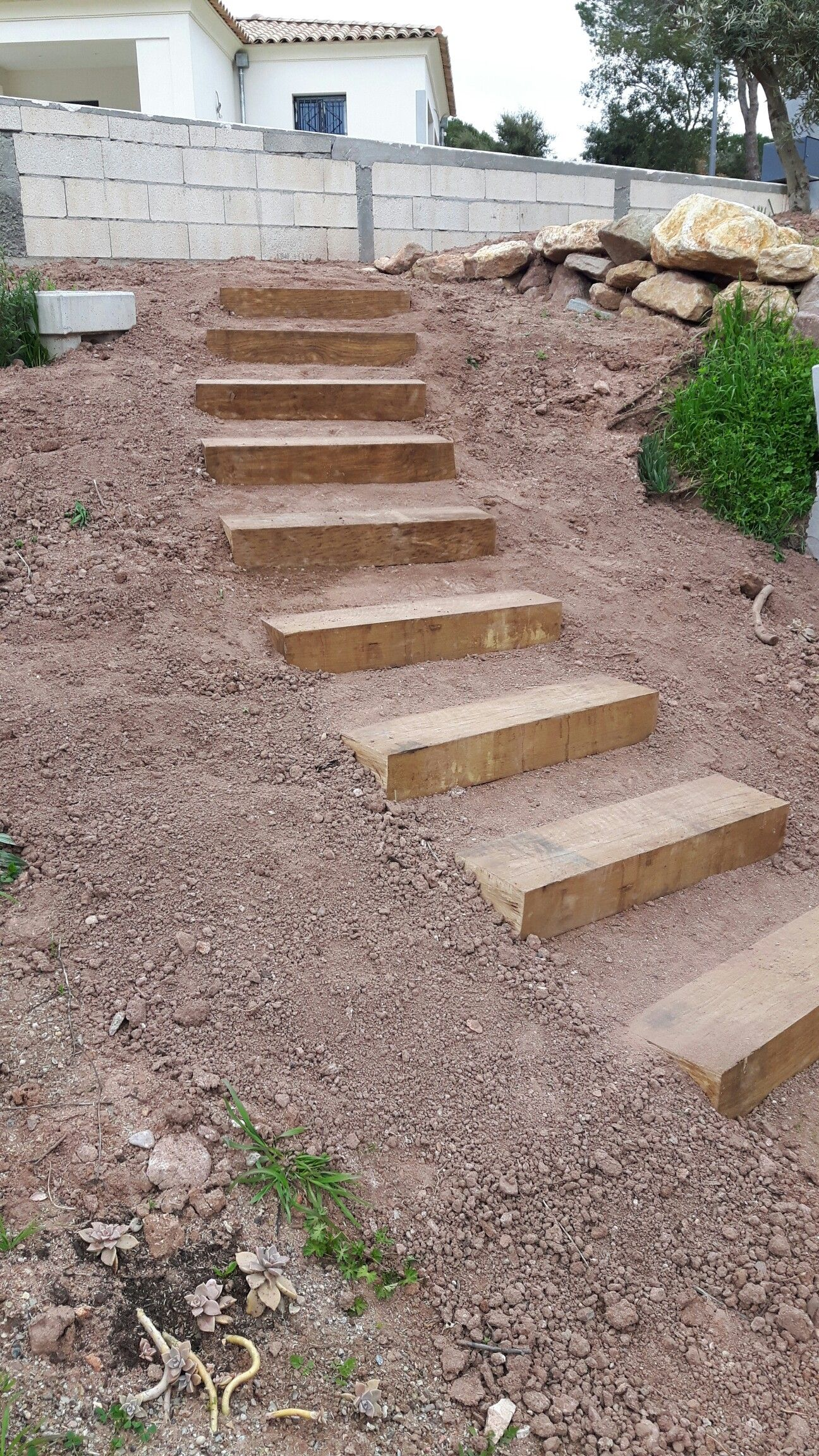 Building garden steps - 22 garden steps retaining wall ideas