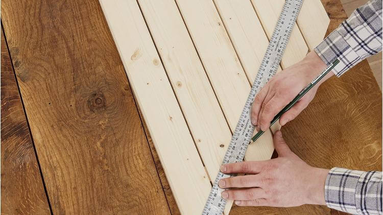 make a balcony table large small adjust measurements